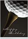 Tee Time Birthday Card A5020U-X