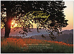 Birthday Mercies Greeting Card A5030U-X