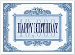 Birthday Shares Card A5037U-Y
