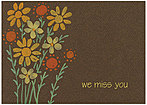 We Miss You Daisies Card A5049KW-X