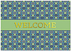 Welcome Pattern Card A5078D-X