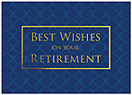 Retirement Wishes Card A5095D-X