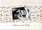 Welcome New Baby Card D5059U-Y