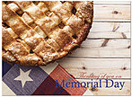 American Pie Memorial Day Card D5079U-Y