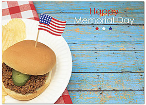 Memorial Day Picnic Card D5082D-Y