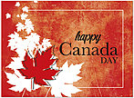 Happy Canada Day Card D5085U-Y