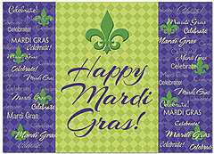 Happy Mardi Gras Card D5088D-Y