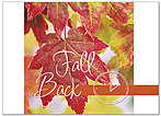 Fall Back Red Leaf Card D5089D-Y