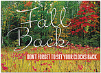 Fall Back Trees Card D5090D-Y