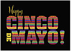 Cinco de Mayo Pattern Card D5098D-Y