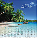 Tropical Beach Wall Calendar C5132U-AA
