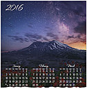 Starry Night Wall Calendar D5148U-AA