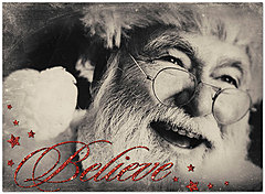Believe Christmas Card D5209U-A