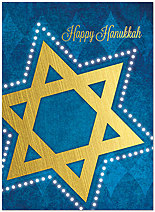 Hanukkah Star Card D5210U-A