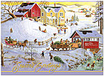 Nostalgic Snow Day Holiday Card H5170G-AAA