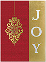 Filigree Joy Holiday Card H5177G-AAA