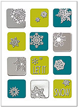 Let It Snow Holiday Card H5178S-AAA