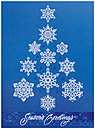 Snowflake Tree Holiday Card H5180S-AAA
