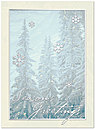 Misty Trees Holiday Card H5184S-AAA