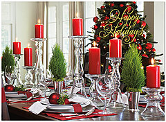 Holiday Table Card H5186U-AA