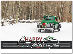 Winter Cruisin' Holiday Card H5188U-AA
