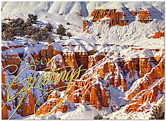 Capitol Reef Holiday Greetings H5197U-AA