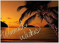 Sunset Wishes Holiday Card H5199U-AA