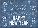 Foil New Year Card H5200U-AA