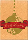 Sustainable Holidays Card H5202KW-AA