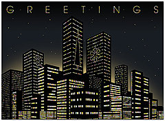 City Greetings Holiday Card H5205U-A