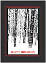 Snowy Timbers Holiday Card H5206U-A