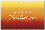 Graphic Thanksgiving Postcard D5120P-BB