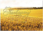 Field of Gratitude Thanksgiving Card H5105G-AAA