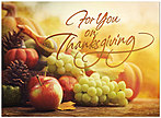Fruitful Thanksgiving Card H5107G-AAA