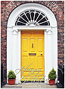 Yellow Door Birthday Card A6020U-X