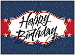 American Birthday Card A6022U-Y