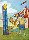 Bull & Bear Greeting Card A6030U-Y