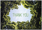 Sky Thank You Card A6039KW-X