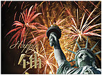 Happy 4th of July Card A6045U-X