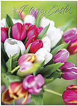 Easter Bouquet Card A6046U-X