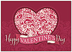 Buy Business Valentines Day Cards Personalize Message Posty Cards