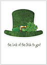 Luck of the Irish Card D6047D-Y