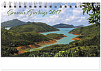 Scenic Seasons Desk Calendar SS2017