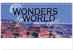 Wonders of the World Desk Calendar WSDCWW