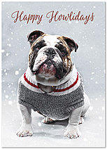 Happy Howlidays Card D6170D-A
