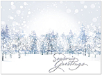 Winter Wonderland Holiday Card H6127S-AAA