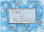 Holiday Flurries Card H6133U-AA