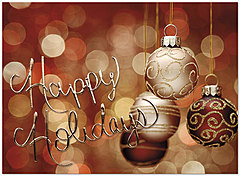 Holiday Ornaments Card H6135U-AA