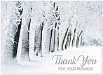 Snowy Thank You Card H6139U-AA