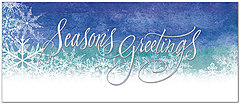 Seasonal Snowflakes Holiday Card H6141L-AA